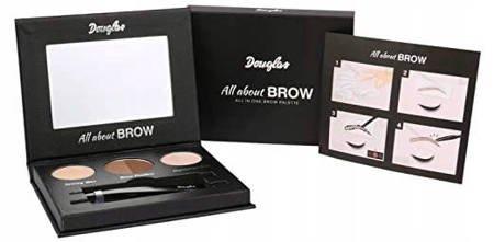 Douglas All about brow Paletka do stylizacji brwi