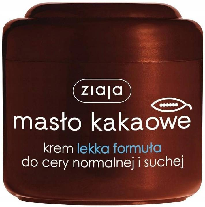 Ziaja Kakaowy Krem do Twarzy Lekka Formuła 200ml